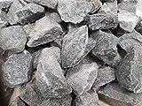 Saunasteine Premium vorgewaschen -DIABAS- für alle Saunaöfen hitzebeständig Körnung 50-80 mm (5kg)