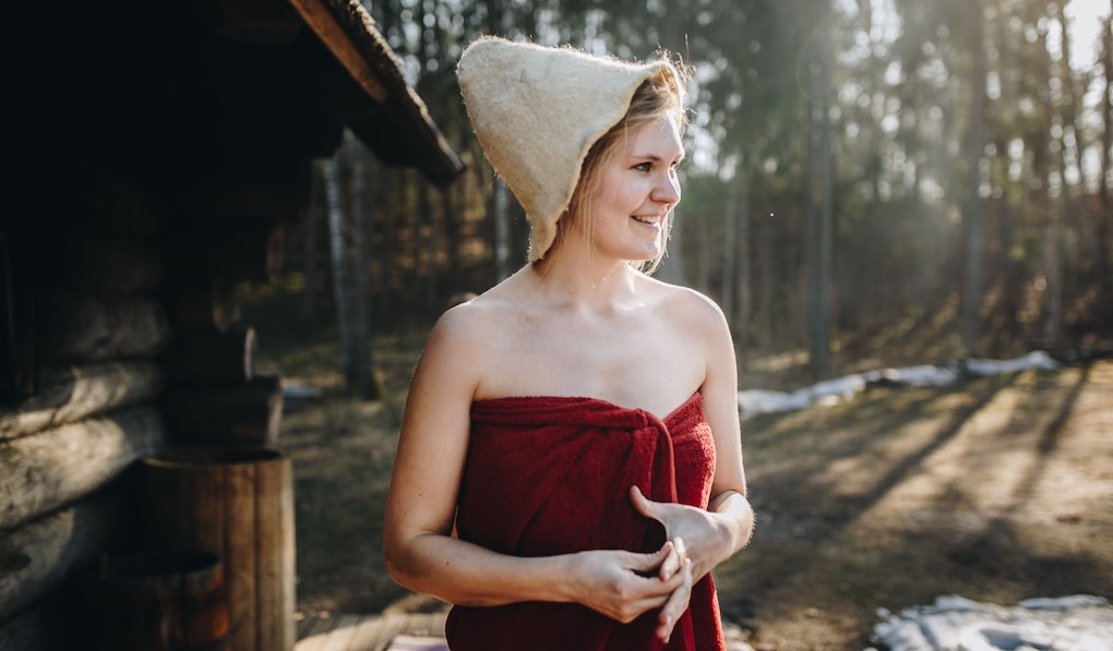 saunakilt damen